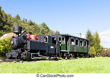 steam locomotive, Viglas, Slovakia