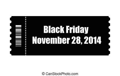 black friday ticket