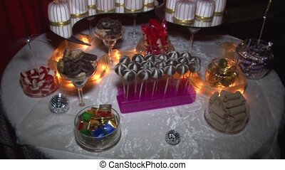 Candy bar - candles candy treats Candy bar