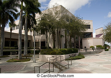 Police Station in West Palm Beach, Florida