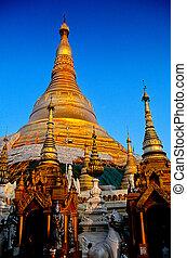 Schwedagon pagoda- Yangon, Burma (Myanmar)