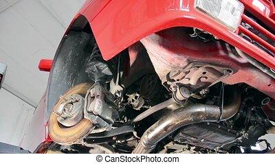 garage - automobile repair shop