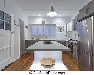 Small kitchen - Small modern kitchen in Australian home