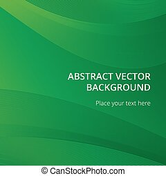 Abstract green vectror background
