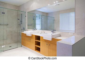 Double bathroom - Stylish double bathroom