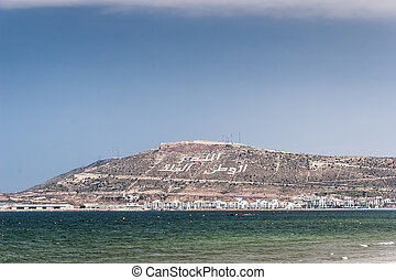 The Casbah at summer day, Agadir, Morocco - Casbah Mountain...