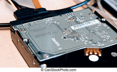 Harddisk and Memory - HDD or Harddisk, SATA with cabels
