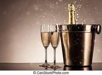 Célébration, thème, à,...