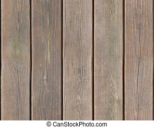 Weathered wooden plank background seamlessly tileable