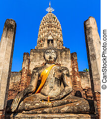 Si Satchanalai Historical Park in old town Sukhothai...