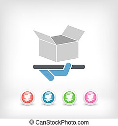 Packaging icon