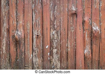 Old orangebrown log wall texture