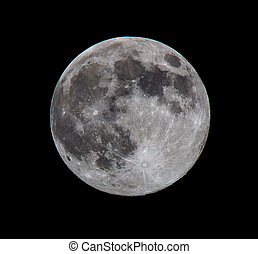 Full Moon, taken on 10 August 2014