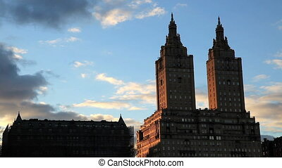 San Remo twin towers - View of the San Remo twin towers from...
