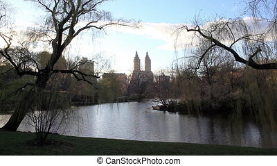 San Remo twin towers Central Park - View of the San Remo...