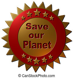 Save our Planet (seal)