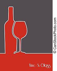 Wine background design