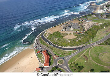 An aerial view of Fort Scratchley - Newcastle Australia