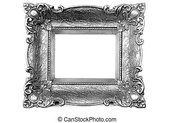 Picture Frame - Old Silver Picture Frame