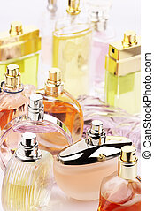 Perfumes set - Set of various woman perfumes.