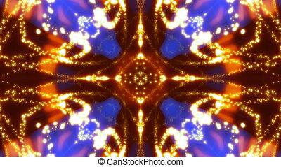 Multicolor VJ Particle Chaos Loop
