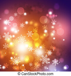 Winter Multicolor Background - winter snow holiday...
