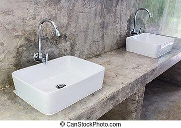 Hand washing basin