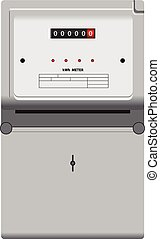 Electric Meter - Household electric meter to monitor the...