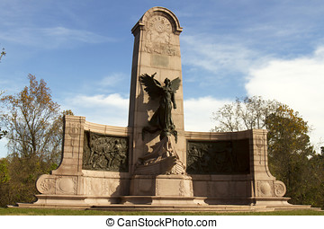 Monument to the soldiers from Missouri in Vicksburg National...