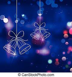 Jingle bells for Christmas decoration - illustration of...