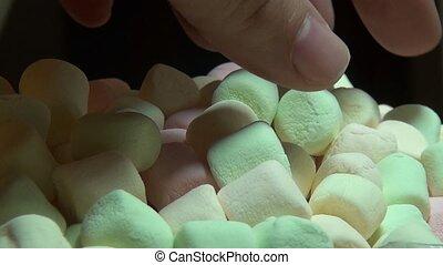 Marshmallows, Sugary Treats, Candy