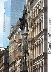 SoHo architecture - New York City, United States - old...