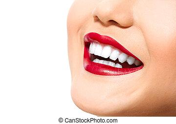 完美, 我, 牙齒