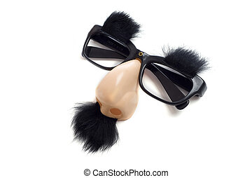 Groucho Glasses - Funny Glasses - A set of Groucho Marx...