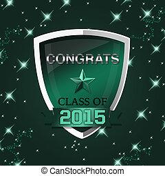 Congratulations Graduates of 2015 - An abstract illustration...