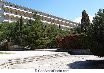 Sanatorium - The build in sanatorium complex in Sudak Crimea...
