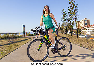 hembra, Triathlete,