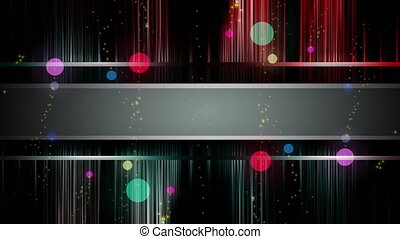Wonderful video animation, loop HD - Animation with bubbles...