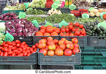 Farmers market - Fruits and Vegetables at Farmers Market
