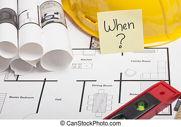 blueprint construction with sticky - construction drafts and...