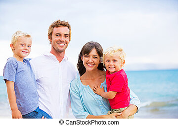 Portrait of Happy Family - Family