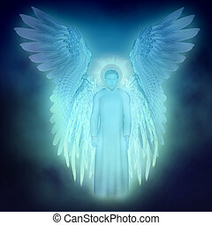 guardian Angel - illustration on the religious theme