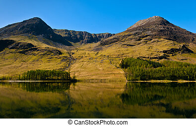 Eaglecrag, Buttermere - Buttermere in the English Lake...