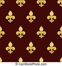 Fleur de lis background