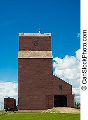Saskatchewan Grain Elevator - A Saskatchewan grain elevator...