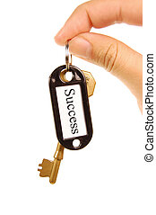 Keys to success - Handing over keys to success