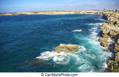 Landscape of Peniche.