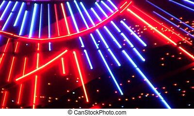 night neon light casino 5 - Night neon lights of a casino 5