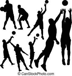 basquetebol, jogador,