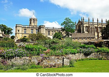 Christ Church college and Cathedral - View of Christ Church...